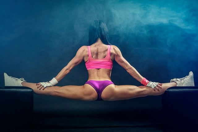 muscle fitness photo