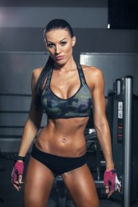 Girl Muscle Building Fitness